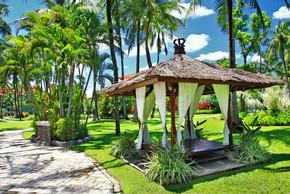 和平放松领土上巴厘岛度假村