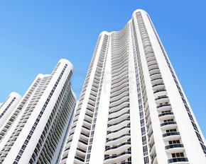 现代建筑在美国迈阿密,佛罗里达州.