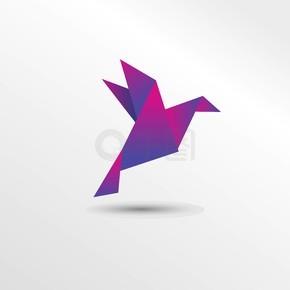 折纸鸟纸艺术