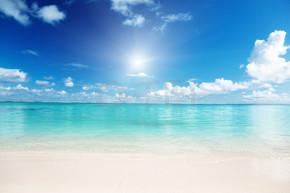 沙子和加勒比海