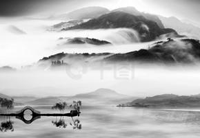 中国山水绘画风格