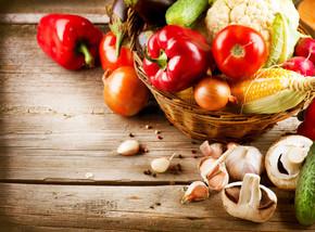 健康的有机蔬菜。生物食品
