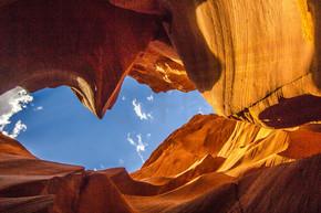 美国亚利桑那州的羚羊峡谷