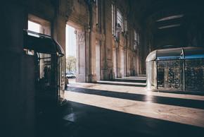 内部的米兰这是主要的火车站