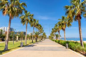 长廊胡同在塞浦路斯利马索尔