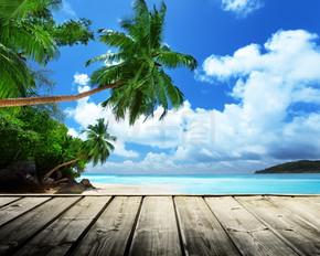 塞舌尔海滩