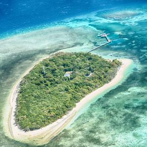 从澳大利亚高的珊瑚礁和岛屿自然公园, 天堂的概念