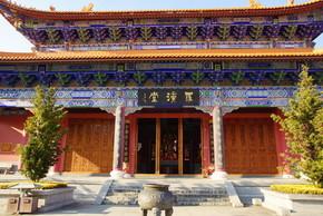 在中国云南省大理古城三佛塔