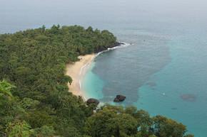 香蕉海滩,圣多美和普林西比,非洲