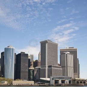 纽约-曼哈顿下城和金融区
