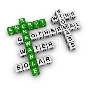 可再生能源填字游戏