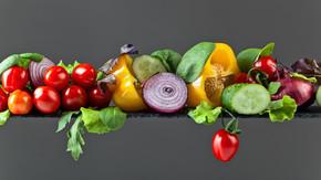 蔬菜沙拉叶
