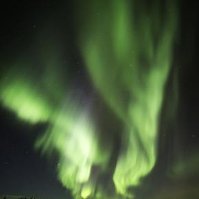 在冰岛极光