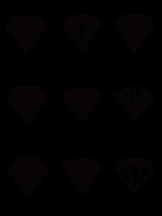 珠宝钻石图标设计