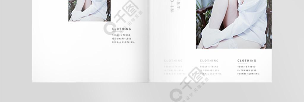 时尚杂志封面画册