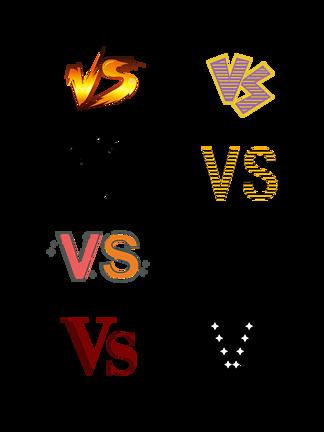 彩色创意vs图标图案