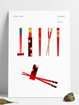 红色筷子文化