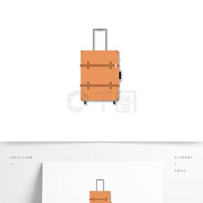 行李箱矢量设计元素