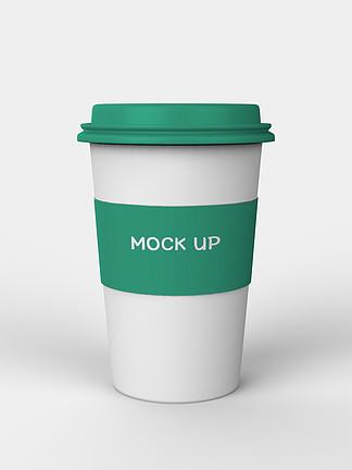 原创模型咖啡奶茶饮料杯包装样机