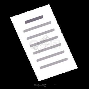 办公室用的白色文件夹