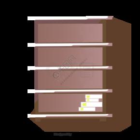 空置的书柜文件柜