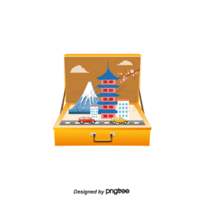 创意旅行箱黄金周