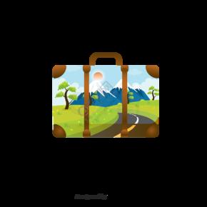 创意日本旅行行李箱