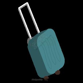 卡通拉杆行李箱