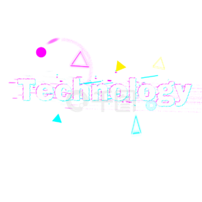 Glitch techonology字体设计