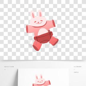 可爱的小兔子服饰